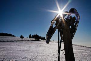 Das Schneeschuhwandern in den Vogesen kann eine völlig neue Wintererfahrung sein.