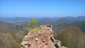 beitune MTB Nord Vogesen Trailcamp Burgentour