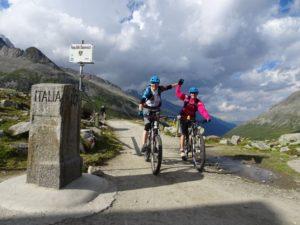 beitune Frauen Transalp Zillertal Gardasee