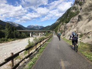 Bei der Alpe Adria Genusstour erleben wir die Berge hautnah.